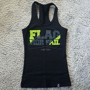 Flag Nor Fail Tank Top